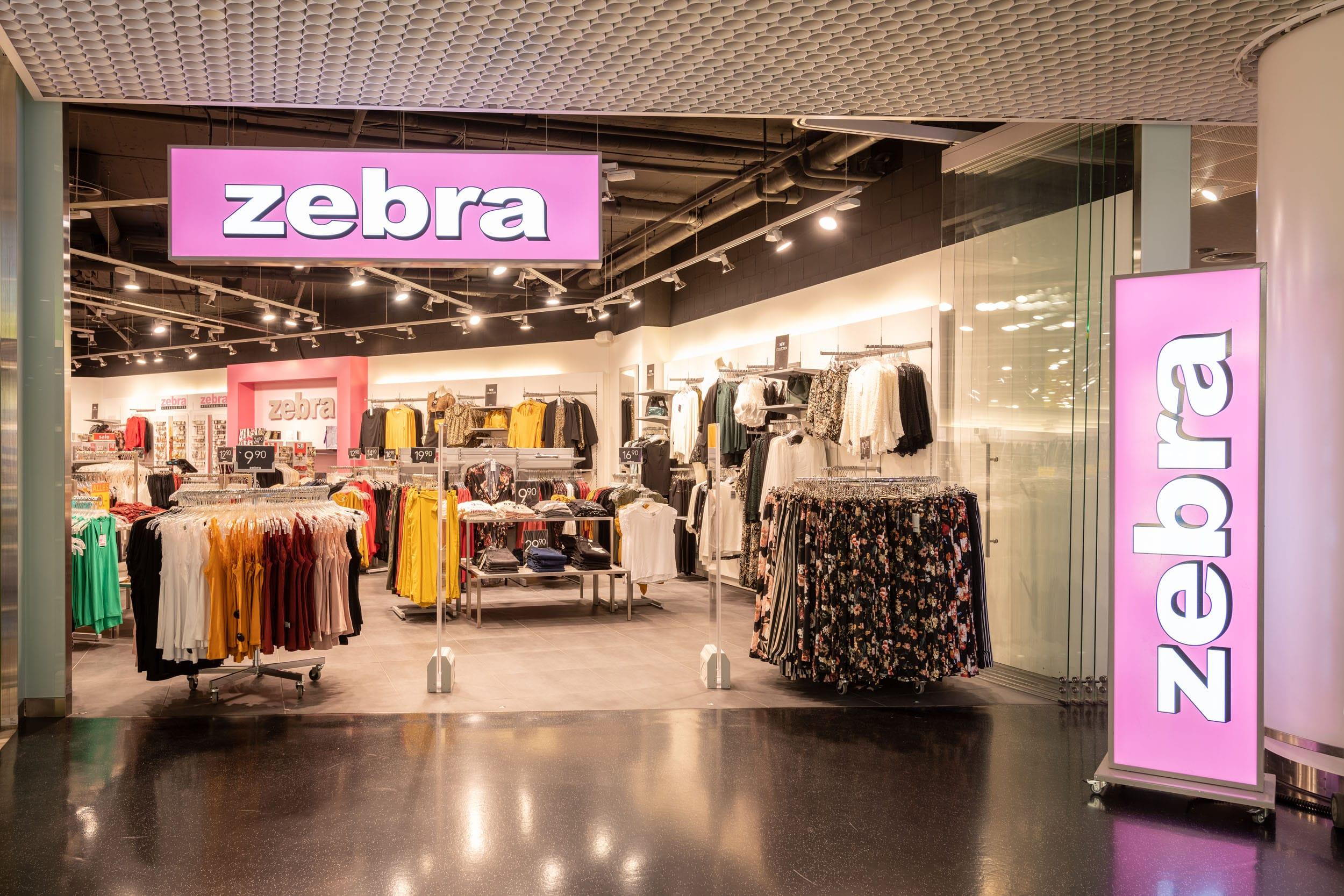 Zebra Fashion in Rapperswil