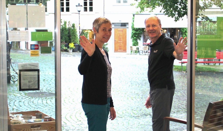 Evelin Reiser und Erich Gerber